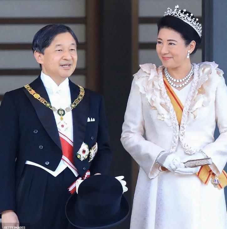 Королева Елизавета примет у себя с государственным визитом императора Японии Нарухито и императрицу Масако