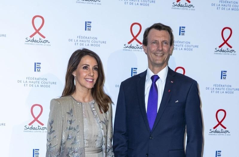 Принц Датский Йоахим и принцесса датская Мэри, Летиция Каста, Моника Беллуччи и другие звезды стали гостями гала-вечера в Париже