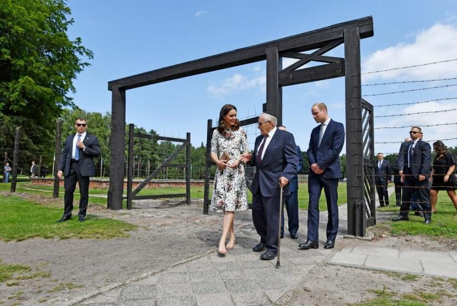 Герцогиня Кембриджская сделала два портрета людей, переживших Холокост