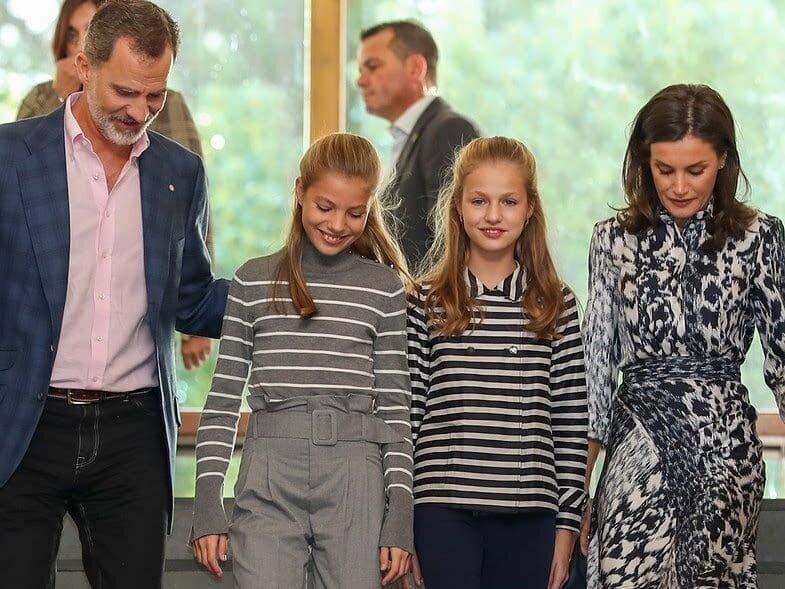 Принцесса Леонор и инфанта София: первое официальное мероприятие в 2020 году