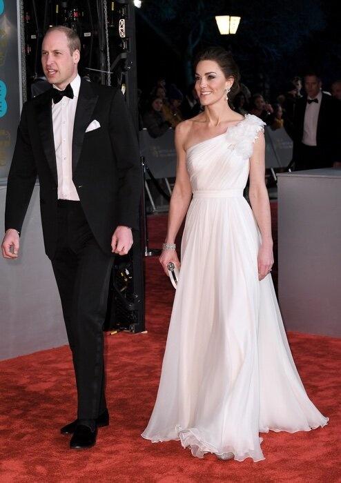 Кейт Миддлтон на BAFTA: все наряды герцогини Кембриджской