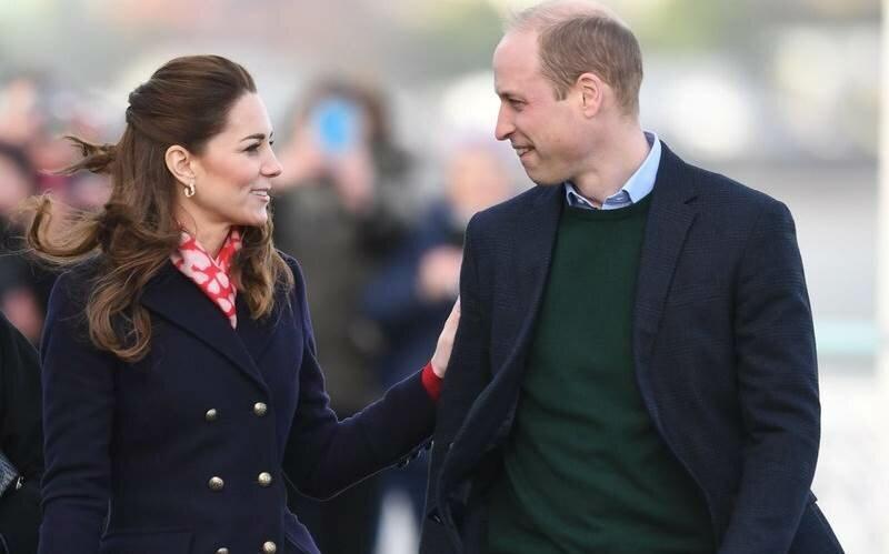 Принц Уильям и Кейт Миддлтон посетили Уэльс: фото и видео