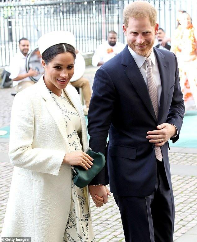 Королева попросила Гарри и Меган присутствовать на службе в Вестминстере в день Содружества 9 марта