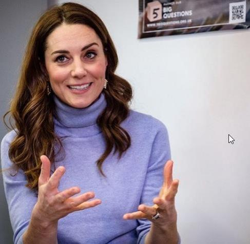 Кейт Миддлтон посетила кафе для бездомных в Шотландии