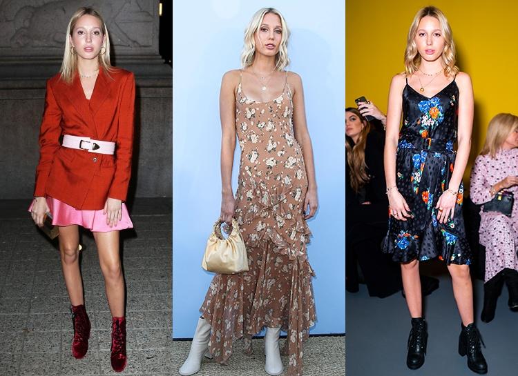 Принцесса Греции Мария-Олимпия устроила свое модное шоу на неделе моды в Нью-Йорке