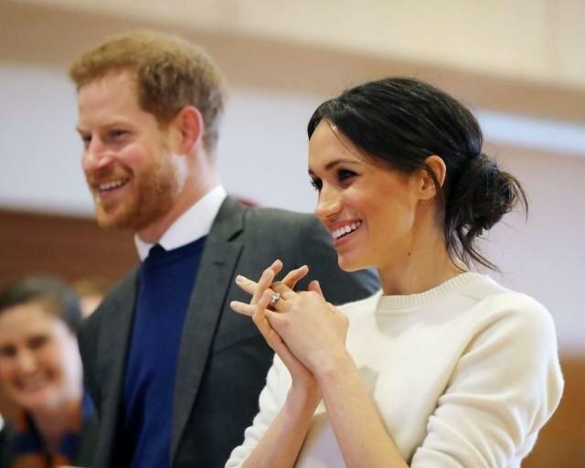 Принц Гарри и Меган Маркл посетили Стэнфордский университет