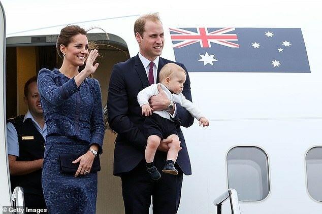 Герцог и герцогиня Кембриджские планируют посетить Австралию, предыдущий визит пары состоялся в 2014 году