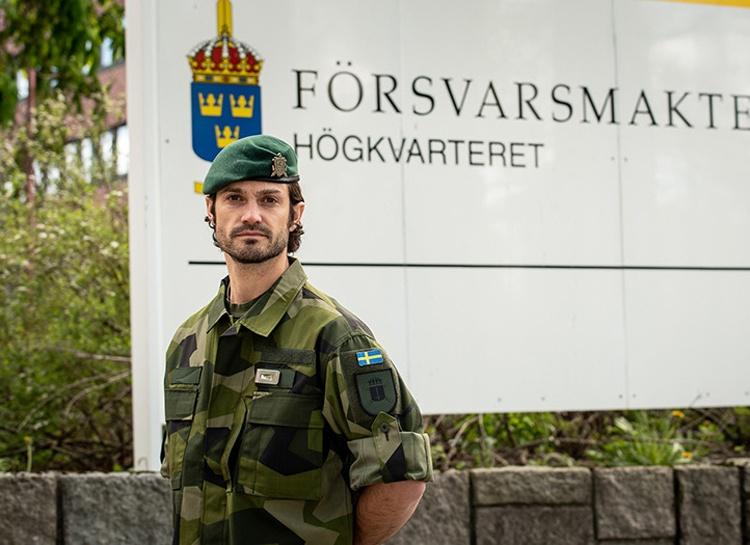 Принц Карл Филипп приступил к службе в Вооруженных силах Швеции