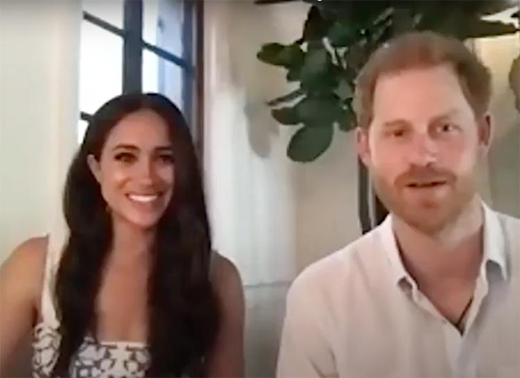 Меган Маркл и принц Гарри впервые вышли на связь из своего нового дома в Санта-Барбаре